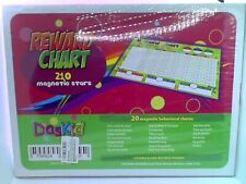 Magnetic Reward Chart Set, Includes: 20 Magnetic Chores, 240 Magnetic Stars New
