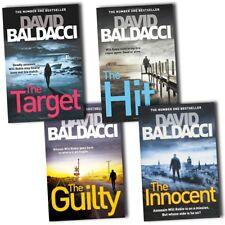 David Baldacci Will Robie Series 4 Books Collection Set