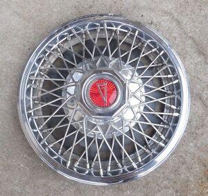 "13"" 1980 81 82 Pontiac Phoenix wire type Hubcap Wheel Cover 10013598"
