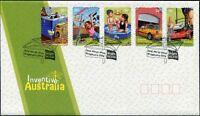 """2009 FDC Australia. Inventive Australia. P&S. Pict.FDI """"BRIGHT"""""""