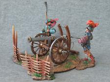 2 Landsknechts with a gun. 15th century. Elite tin soldiers 54 mm St. Petersburg
