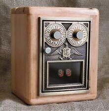 Post Office Door Bank #96 - Postal Door - Barn Wood - Circa 1950 - Double Dial