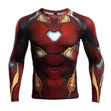 IRON MAN AVENGERS INFINITY WAR COMPRESSION SHIRT LIKE UNDER ARMOUR ALTER EGO