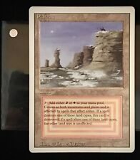Plateau Revised 3rd Edition Dual Land MTG Magic the Gathering (sleeve included)