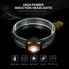 IR Sensor Headlight LED Bright Headlamp Frontal Lantern Head Torch Working Light
