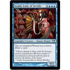 MTG Azami, Lady of Scrolls NM - Champions of Kamigawa