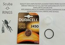 Kit de batería Premium Uwatec Scubapro ALADIN 2g primetec Tec2g Tec3g uno 3g