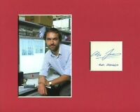 Alec Jeffreys Geneticist DNA Profiling Inventor Signed Autograph Photo Display