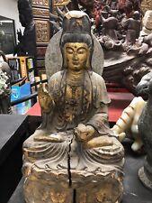Antique Guan Yin Buddha