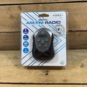 SportX GPX R300S Portable AM/FM Digital Armband Radio With Earbuds