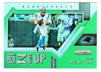 2017 Panini Prizm RIZE UP GREEN REFRACTOR PRIZM #3 CAM NEWTON Carolina Panthers