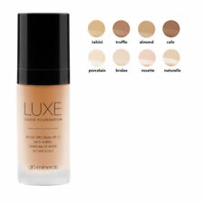 Glo Minerals Luxe Liquid Foundation, NEW -- choose from 3 shades