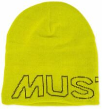 MUSTO Evo slouch Beanie Sulphur Spring hat size 1