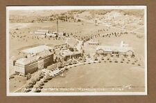 RPPC Roseburg,OR Oregon Aerial View, National Hospital used 1953