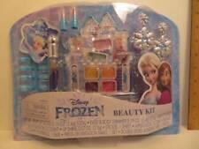 Disney Frozen Beauty Kit Lip Gloss,Earring,Sticker,Press on Nails,Body Shimmer++