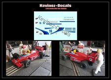 1/32 Scale Decals for Scalextric Lola THL1