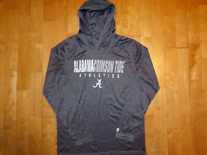 NEW UNIVERSITY OF ALABAMA Crimson Roll Tide Medium M Long Sleeve Hoodie Shirt