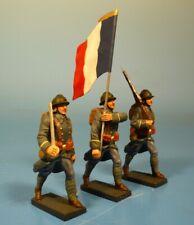 Lineol / Elastolin - Frankreich - Fahnengruppe 1915 – 7cm Serie
