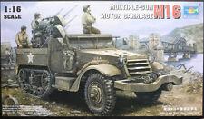 M16 Multiple Gun Motor Carriage MGMC Flakpanzer 1:16 Model Kit Trumpeter 00911