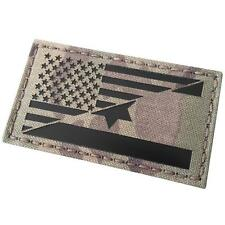 USA Israel Friendship Infrared IR Multicam 2x3 5 Tactical Morale IFF Hook Patch