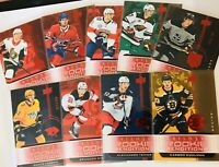 2019-20 UPPER DECK TRILOGY ROOKIE RENDITIONS RED PARALLEL /799 YOU PICK