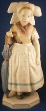 Art Nouveau Jugendstil KPM Berlin Porcelain Girl Figurine Figure Porzellan Figur