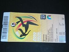 2010 SOUTH AFRICA  WORLD CUP SLOVENIA v ENGLAND   TICKET STUB