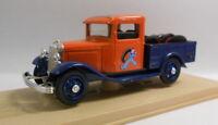 Eligor 1/43 Scale Diecast Model 1080 FORD V8 PICK-UP 1933 ORANGE/BLUE