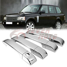 Chrome Side Door Handle Cover Trim For 2003-2009 Land Rover Range Rover HSE FM
