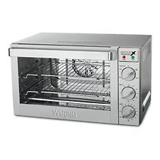 Waring Half Size Electric Convection Oven 120 Volts Model# WCO500X NSF Approved