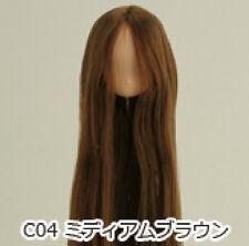 Obitsu Doll 11cm hair implantation head for natural body (11HD-F01NC04) M BRN