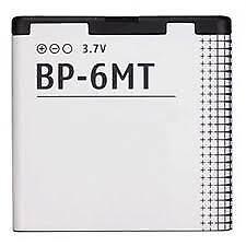 BP-6MT 1050mAh Replacement BATTERY FOR NOKIA MODELS E51 6350 N81 6720 N82