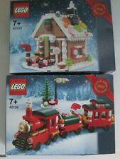 Lego Limitierte Weihnachtssets 2015  # 40138 und # 40139 NEU original versiegelt