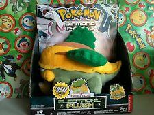 """Pokemon Plush Grottle Big Electronic Talks Speaks 8"""" Jakks stuffed toy turtwig"""