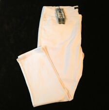 Salt works NYC Medium Rise Women's Stretchy White Skinny Jeans Size 24W NWT