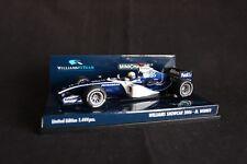 Minichamps Williams Cosworth Showcar 2006 1:43 #9 Mark Webber (AUS)