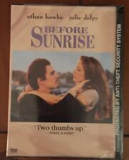 Before Sunrise (DVD, 1999) Band New in Factory Sealed Plastic