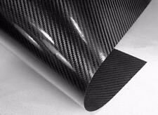 "NEW REAL CARBON FIBER Sheet 6"" x 12"" with 3M Adhesive Cars Corvette FREE S&H"