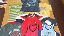6x H&M,Lindex,TOPKIDSBoy  und andere MarkenT-shirt+ 2 Tank TOP  GR : 122 &128