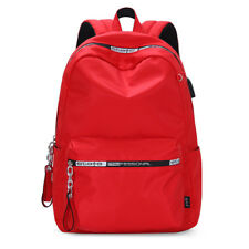 Ladies Girls Travel School Bags Women Students Fashion Backpack Red laptop bag