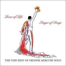 MERCURY,FREDDIE - LOVER OF LIFE SINGER SONGS: VERY BEST OF FREDDIE (CD) Sealed