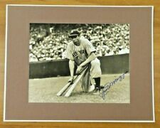 Joe DiMaggio Signed Sephia Toned 8x10 Matted Photo with Full JSA Letter