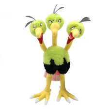Dodrio Triple Bird Pokemon Plush Toy Generation VII Dodorio Stuffed Animal 12""