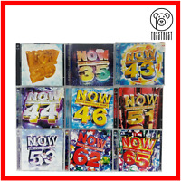 Now That's What I Call Music CD Bundle Joblot Collection x9 Pop Music N3