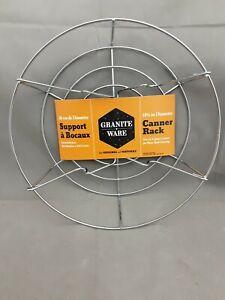 Granite Ware Canner Rack (Fits 11.5qt Canning Pot)