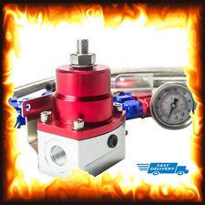 Regulador De Presión Combustible Ajustable Kit calibre 160psi De Aceite Manguera Trenzada AN-6 EFI