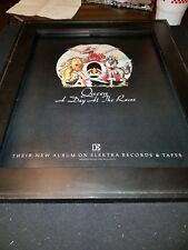 Queen A Day At The Races Rare Original Promo Poster Ad Framed!