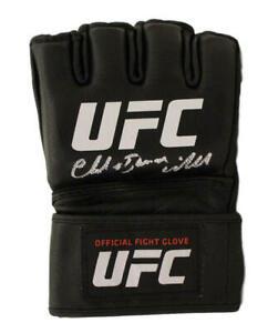 Chuck Liddell Autographed UFC Official Black Left Handed Glove Iceman BAS 22059