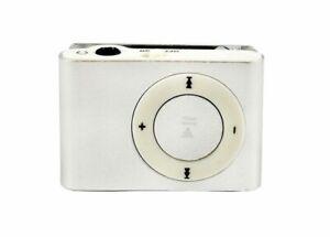 Portable Mini Clip-on MP3 Player With Micro TF/SD Slot Metal USB 2.0 Multicolor