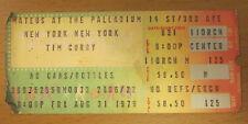 1979 tim curry palladium new york city konzert eintrittskarte the rocky horror show